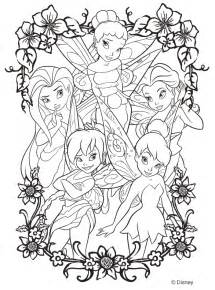disney color free printable disney fairies coloring pages sheet