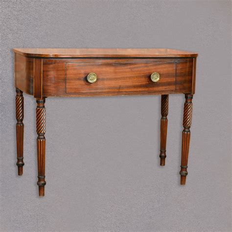Antique Console Table Antique Regency Side Table Mahogany Console Desk Library C1830 346847