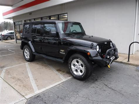 Used Jeep Wrangler For Sale Nc Used 2015 Jeep Wrangler Unlimited For Sale In Asheville