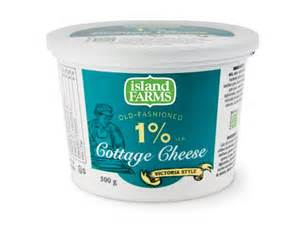 1 cottage cheese island farms 1 cottage cheese island farms