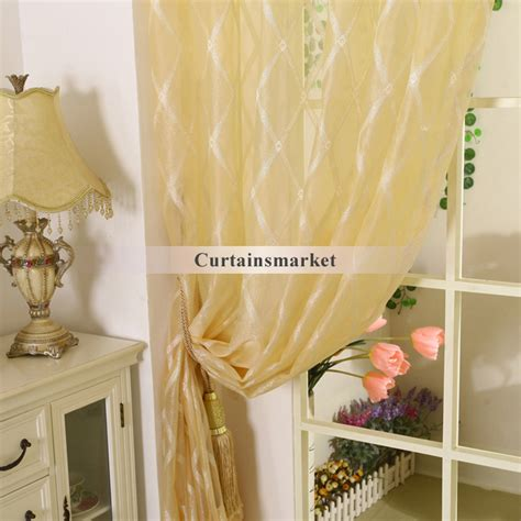 light yellow sheer curtains pale yellow polyester fabric sheer curtains with patterns