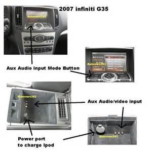 2004 Infiniti G35 Aux Input Work Radio Wiring Diagram Website