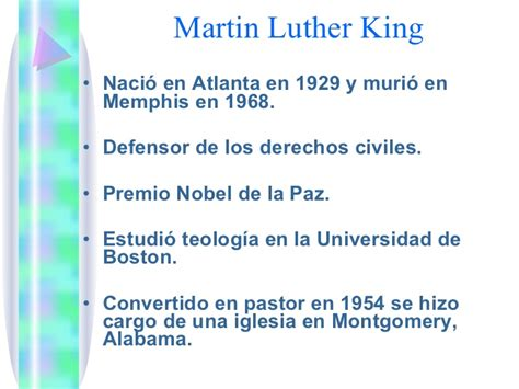 quien era martin luther king biograf 237 a martin luther king jr