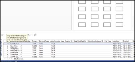 visio 2013 link link sharepoint 2013 list and visio 2013 part 1