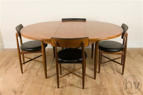 G Plan Dining Table And Chairs Vintage Retro G Plan Fresco Teak Extendable Dining Table And 4 Chairs Ebay