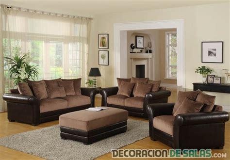 best couch color preciosas salas con sof 225 s en color marr 243 n
