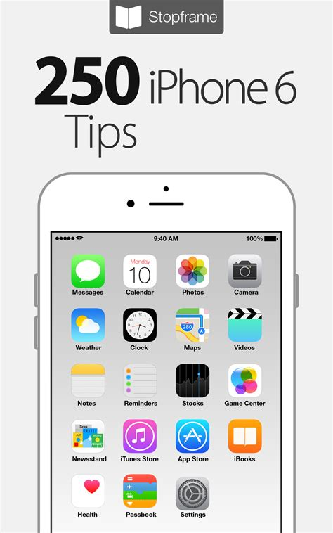 iphone 6 tips 250 iphone 6 tips ebook released for just 1 99 prmac