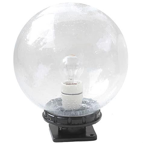 le glaskugel glaskugel leuchte terra lumi 250 mit flachem sockel