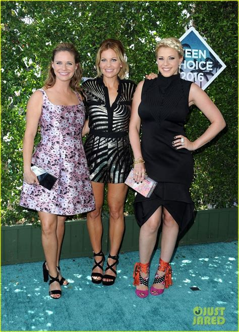 andrea barber teen choice awards 2016 red carpet fashion what the the 25 best candace cameron bure kids ideas on pinterest