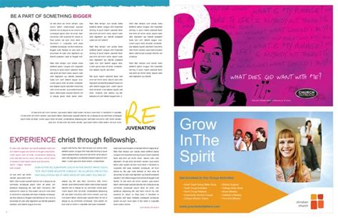 magazine layout creator create a magazine design from a newsletter or brochure