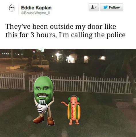 Meme M - dr phil m m dancing hot dog snapchat filter know your