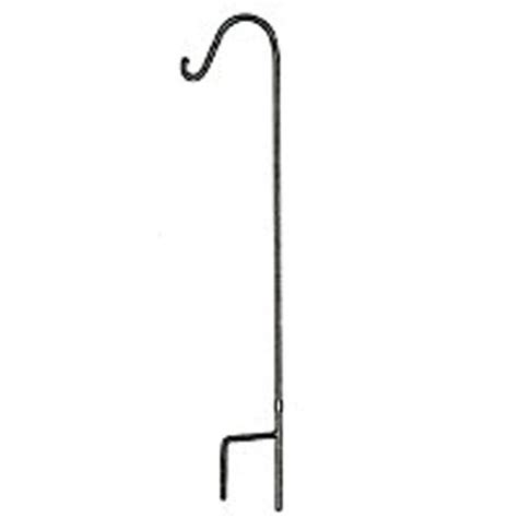 Plant Hooks - house hold shepherd hook 48 quot black flower plant hanger