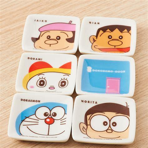 Doraemon Set By Herz Shop doraemon 8 small plate set tokyo otaku mode shop