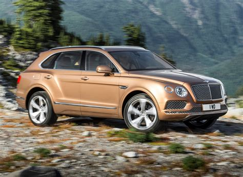 bentley bentayga exterior bentley bentayga suv 2016 features equipment and