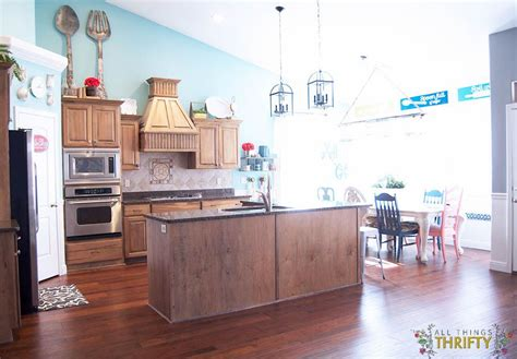 Distressed Hickory Laminate Flooring Home Depot - flooring reveal home legend barrett distressed hickory