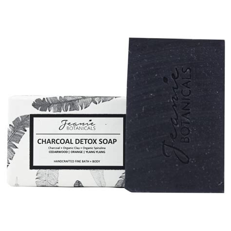 Detox Soap by Charcoal Detox Soap Cedarwood Orange Ylang Ylang