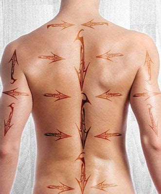 5 At Home Waxing Tips From The Pros by How To Map For S Back Waxing This Is A Beginners Map