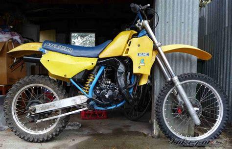 1997 Suzuki Rm 125 Specs Bikepics 1986 Suzuki Rm 125
