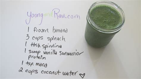liquid brainpower vegan smoothie and soup recipes for a faster brain books vanilla sunwarrior protein smoothie and