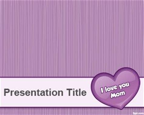 powerpoint templates free download violet mother s day powerpoint templates