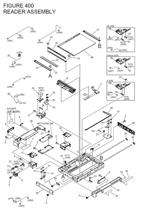 Parts Canon Guide Release Fixing Assy canon imagerunner advance 4045 parts list and diagrams