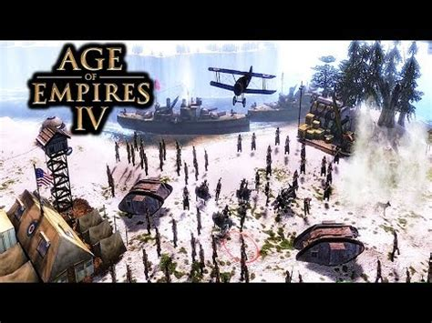age of empires 4 gameplay pc mod for aoe 3 youtube