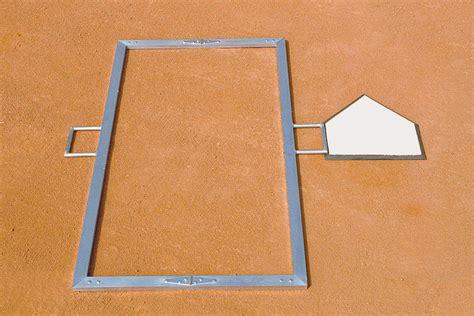 foldable batters box template beacon athletics store