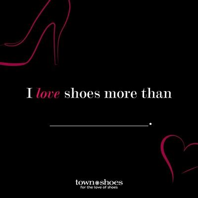 I Love Shoes Sweepstakes - enter confess your shoe love contest