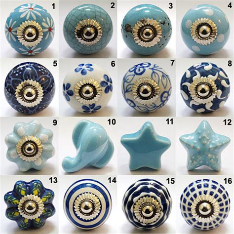 Ceramic Painted Knobs by Set Of 8 Knobs Ceramic Door Knobs Painted By