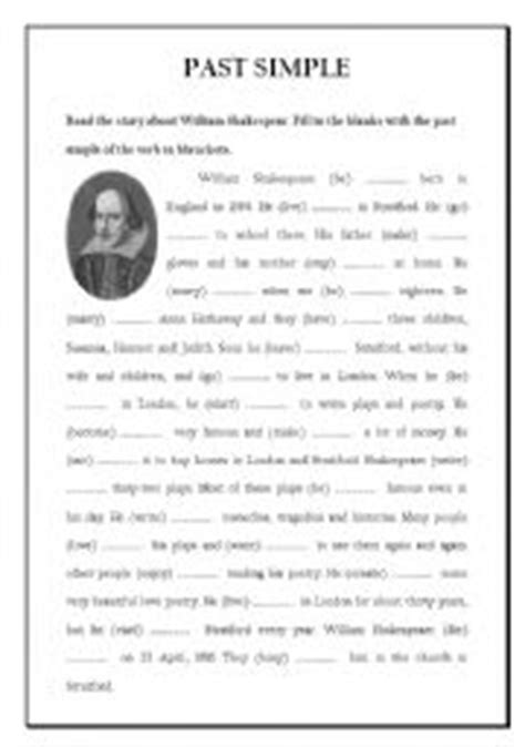 william shakespeare biography in simple english william shakespeare worksheet by nontanoon