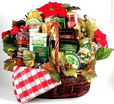 idea christmas basket corporate deluxe family italian gift basket