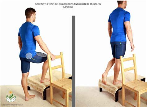 legs quadriceps strengthening exercise bloomsbury practice london osteopathy clinic