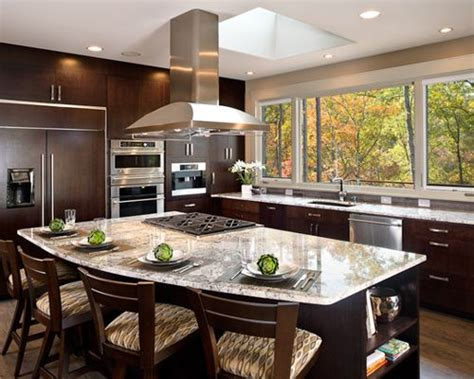 Stove Top In Island   Houzz