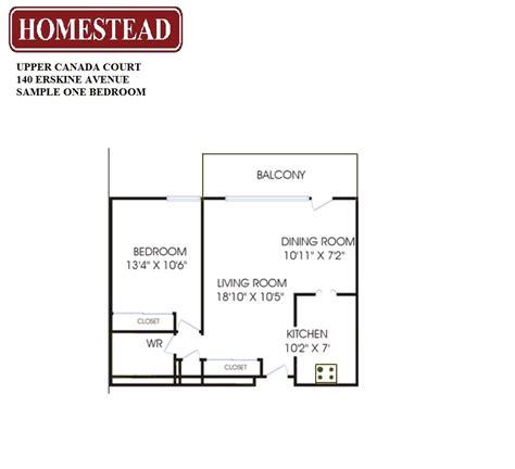 One Bedroom Bachelor Downtown Toronto canada court 140 yonge and eglinton homestead
