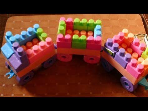 Meja Lego cara membuat kereta api lego dan meja kursi lego