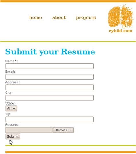submit resume how we re going to hire our next web developer