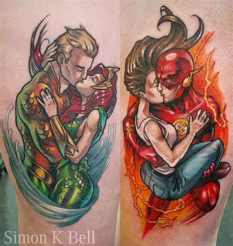 aquaman tattoo 42 best simon k bell images on bell