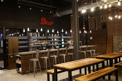 the tap room take a look inside the new taproom at samuel brewery boston magazine
