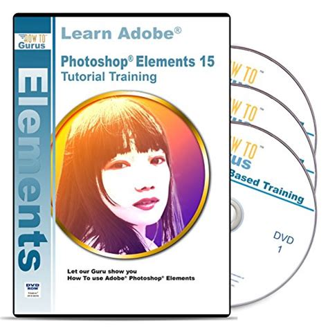 adobe photoshop learning tutorial adobe photoshop elements 15 training on disc 3 dvds 16