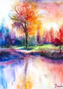 25 best ideas about watercolor landscape on pinterest