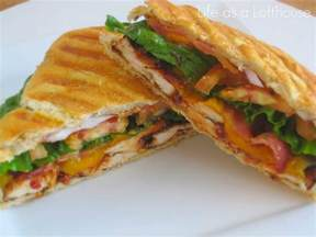 bbq chicken panini in the lofthouse