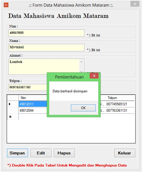 membuat aplikasi dengan database mysql membuat aplikasi crud dengan c dan mysql sasak media