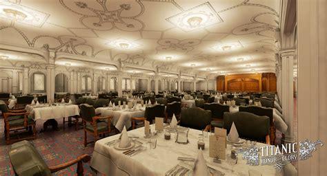 Titanic First Class Dining Room Bildergalerie Titanic Honor Amp Glory Innenansichten