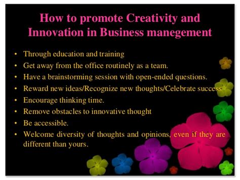 creativity and innovation creativity and innovation