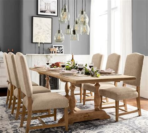 pottery barn dining room parkmore extending dining table pottery barn