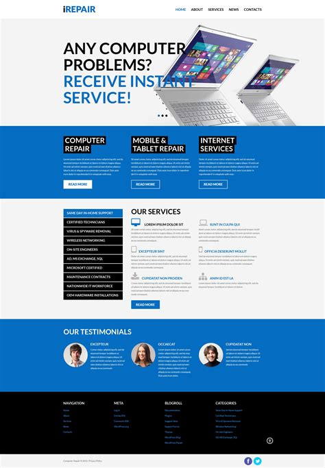 login page design templates in asp net irepair psd template