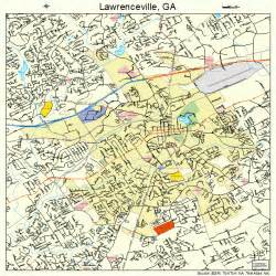 lawrenceville map 1345488