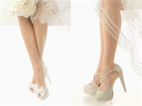 imagenes de vestidos de novia y zapatos tendencias 2016 en zapatos de novia