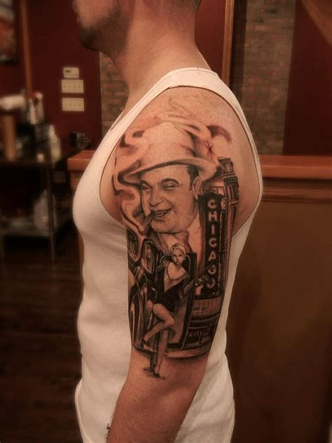al capone chicago my tattoo portfolio pinterest