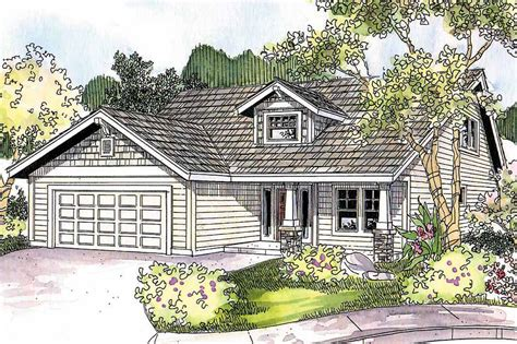 Craftsman House Designs Craftsman House Plans Holshire 30 635 Associated Designs